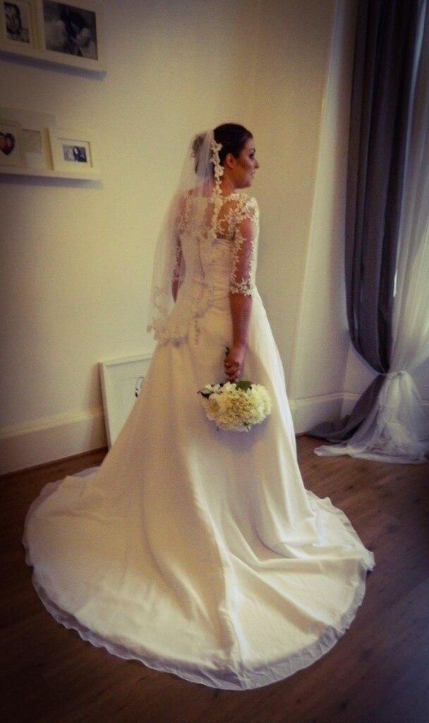 Samantha wearing 'Georgina'