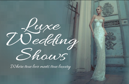 luxe wedding show poster