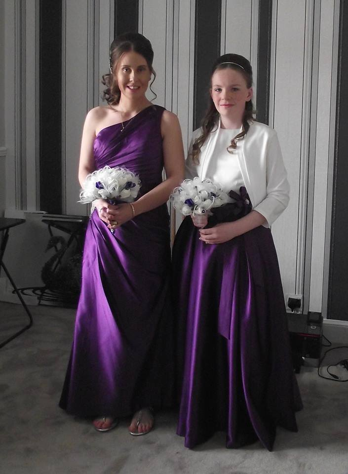 Beautiful Bridesmaids Jenny & Karen