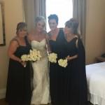 Karen & her fabulous bridesmaids