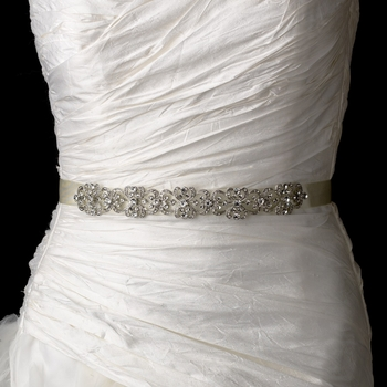 Vintage Satin Ribbon Belt or Headband « Wedding Dresses Scotland by ...
